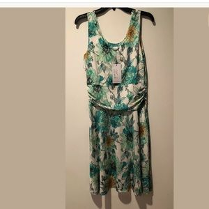 Sara Campbell Floral Dress Size 8 $208 New